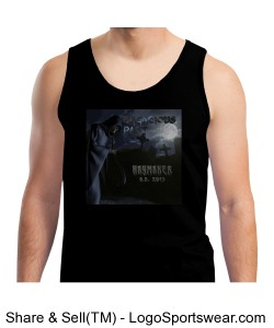 """Haymaker"" Men's Tank Top. Design Zoom"