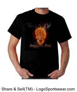 """The Rising"" Gildan  Cotton Adult T-shirt Design Zoom"